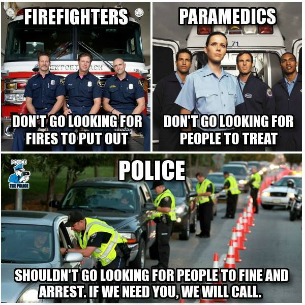 Cop Block Meme Shows How Out Of Touch They Are